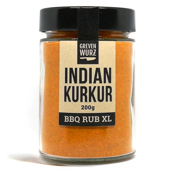 BBQ RUB XL Indian Kurkur 200g