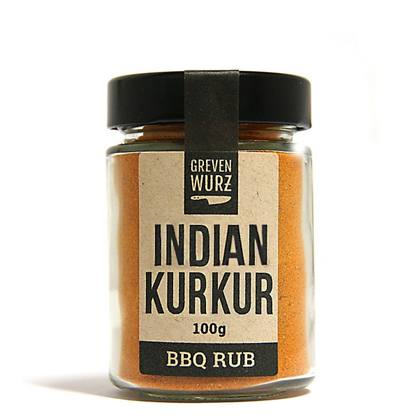 BBQ RUB Indian Kurkur 100g