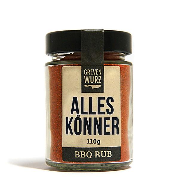 BBQ RUB Alleskönner 110g