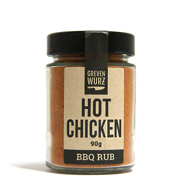 BBQ RUB Hot Chicken 90g