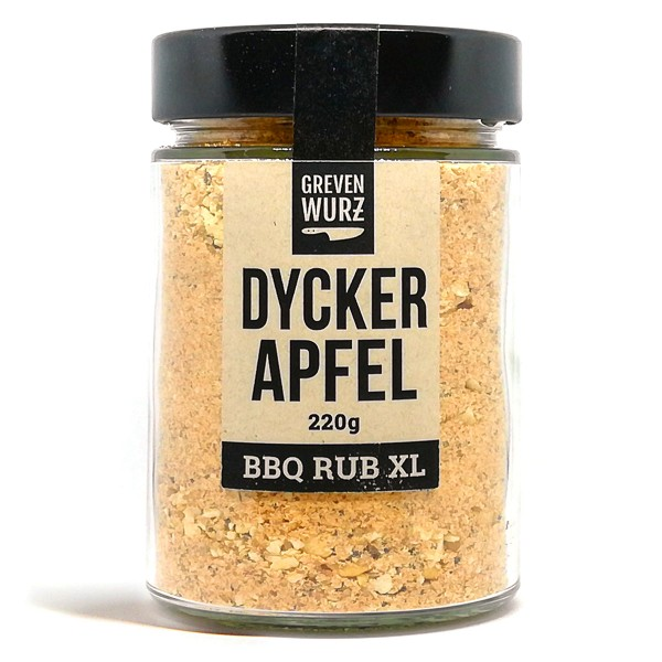 BBQ RUB XL Dycker Apfel 220g