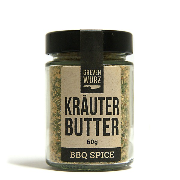 BBQ SPICE Kräuterbutter 50g